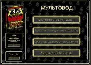 МУЛЬТОВОД — Заработок на мультиаккаунтах